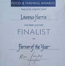 Ảnh: Laurence Harris nhận giải nhì (Runner Up) trong chương trình của BBC 4